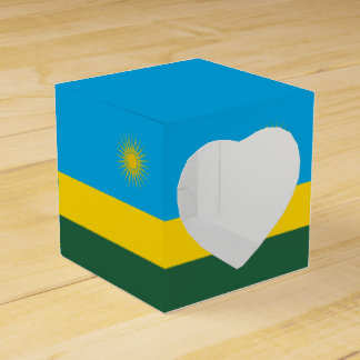 Caixinha Bandeira de Rwanda
