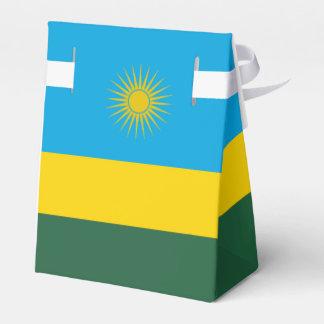 Caixinha De Lembrancinhas Bandeira de Rwanda