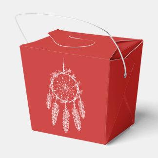 Caixinha De Lembrancinhas Casamento vermelho do nativo americano do coletor