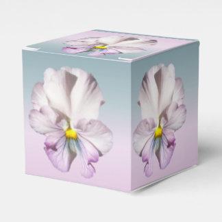 Caixinha Favor/caixa de presente - amor perfeito Ruffled da