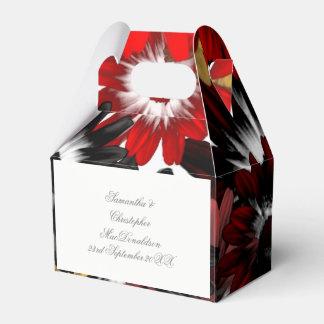Caixinha Flores alaranjadas coloridos coloridas que wedding