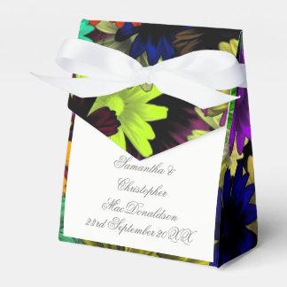 Caixinha Flores coloridos coloridas que wedding