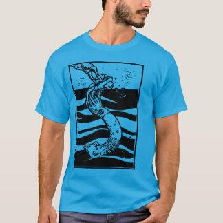 Calamar destruído camiseta