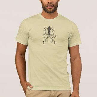 Calamar extravagante camiseta
