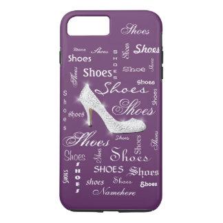 """""""Calça-me"""" amam calçados! Calçados loucos! Bonito Capa iPhone 8 Plus/7 Plus"""