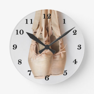 Calçados de Pointe Relógios De Paredes