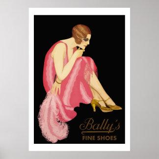 Calçados finos Bally Poster