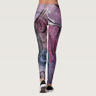 Calças da ioga leggings