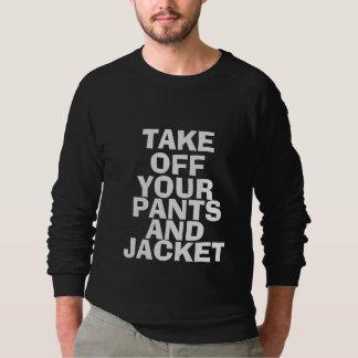 Calças e jaqueta