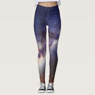 calças justas da luz das estrelas leggings