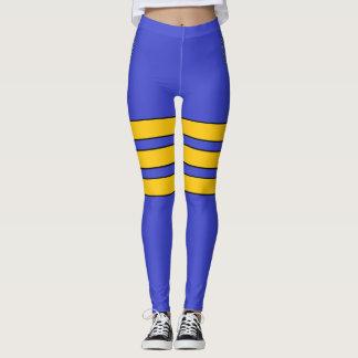 Calças justas da menina do marinheiro leggings