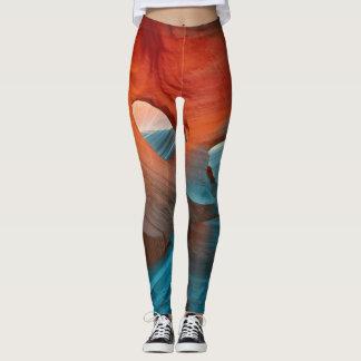 Calças justas do desenhista leggings