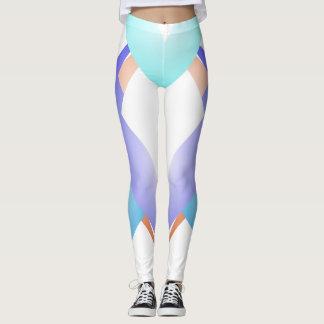 Calças na moda do chique dos esportes da forma leggings