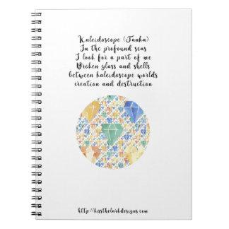 Caleidoscópio Caderno Espiral