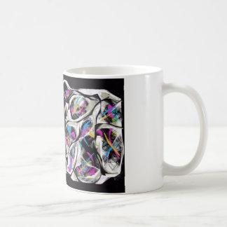 caleidoscópio caneca de café