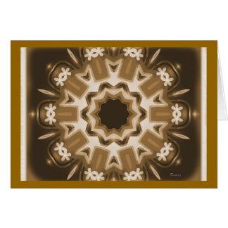Caleidoscópio Cartão Comemorativo