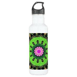 Caleidoscópio de Lotus, 24 garrafas de água da