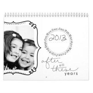 calendário 2013 lunático da foto