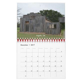 Calendário 2017 esquecido coisas