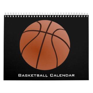Calendário 2018 do basquetebol