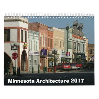 Calendário arquitectónico de Minnesota - 2017