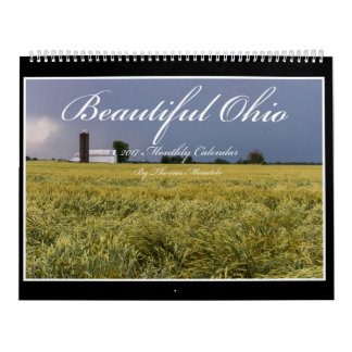 Calendário bonito de Ohio 2017 por Thomas Minutolo