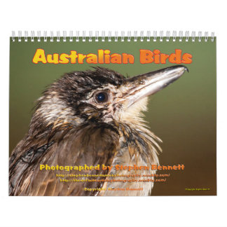 Calendário Calendário: Os pássaros australianos fotografam…