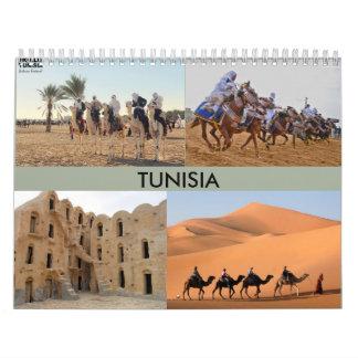 Calendário com foto Tunísia