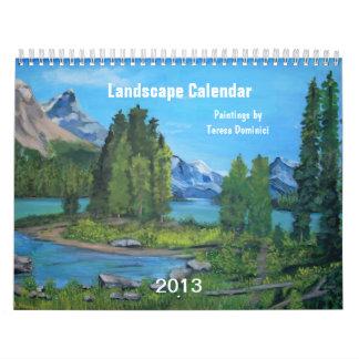Calendário da paisagem 2013