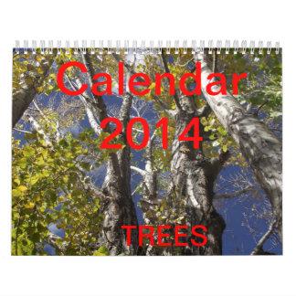 Calendário das árvores 2014