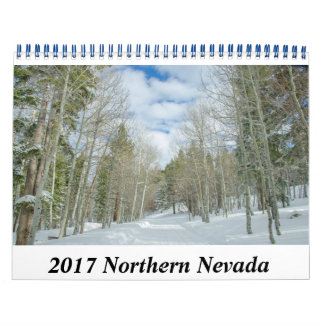 Calendário de Nevada do norte 2017