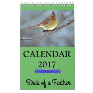 Calendário do Birds of a Feather 2017