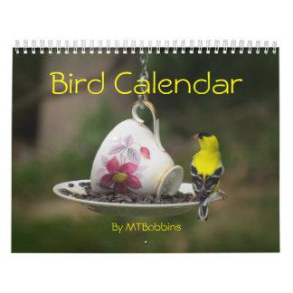 Calendário dos pássaros