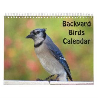 Calendário dos pássaros do quintal (novo para