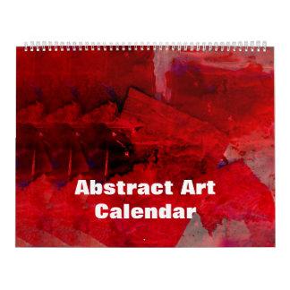 Calendário enorme da arte abstracta 2018