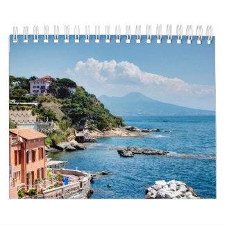 Calendário Estações da paisagem de Italia