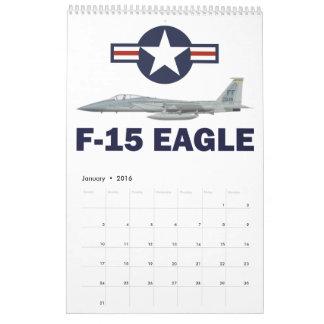 Calendário F-15C Eagle