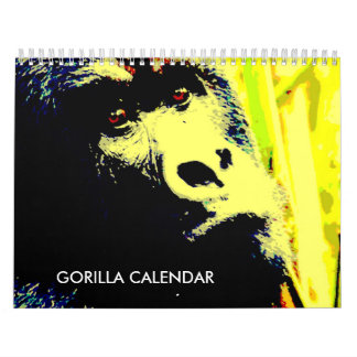 Calendário Gorila 2018