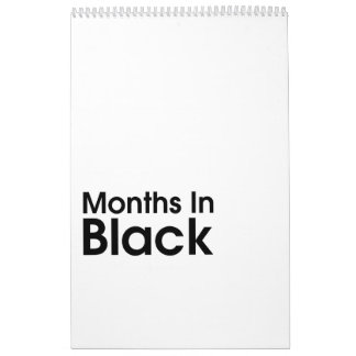 Calendário Meses nas pimentas 2018 de Leslie do ~ do preto