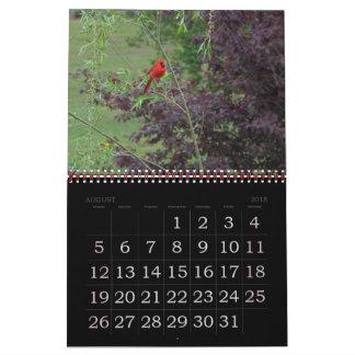 Calendário Para o amor dos pássaros…