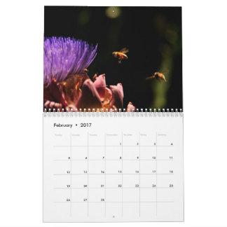 Calendário Pássaros as abelhas e outros animais