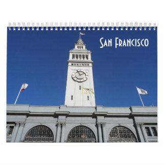 Calendário San Francisco 2018