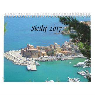 Calendário Sicília 2017