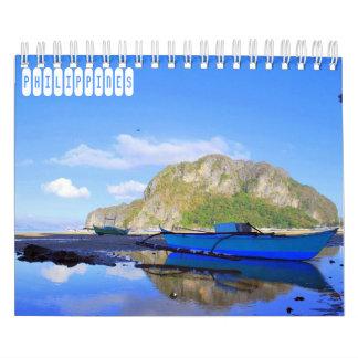 Calendário Viagem de Filipinas