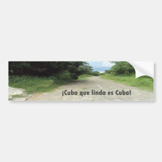 Calle de Celimar, Habana, autocolante no vidro tra Adesivo Para Carro