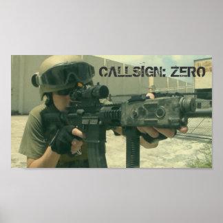 Callsign: Poster zero