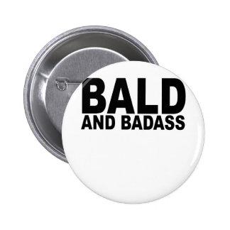 Calvo e Badass T-Shirts png Boton
