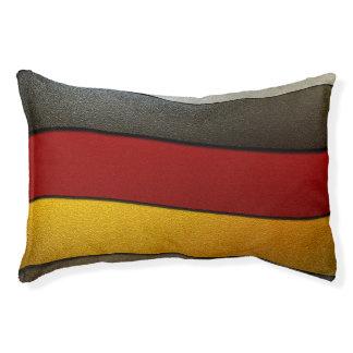 Cama Para Animais De Estimação Cor-Cromo da bandeira de Alemanha