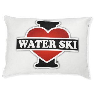 Cama Para Animais De Estimação Eu amo o esqui de água