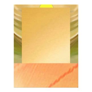 Camadas douradas flyer 21.59 x 27.94cm